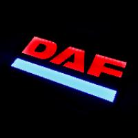 Светящийся полноцветный логотип DAF