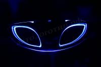 Светящийся логотип Daewoo,светящаяся эмблема Daewoo,светящийся логотип на авто Daewoo,светящийся логотип на автомобиль Daewoo,подсветка логотипа Daewoo,2D,3D,4D,5D,6D