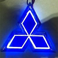 5D светящийся логотип Mitsubishi