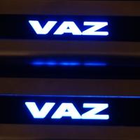 Накладки на пороги с подсветкой VAZ 2101-07