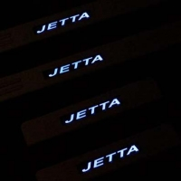 Накладки на пороги с подсветкой Volkswagen Jetta