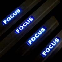 Накладки на пороги с подсветкой Ford Focus 2