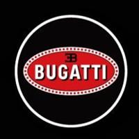 Внешняя подсветка дверей с логотипом Bugatti 7W