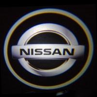 Штатная подсветка дверей NISSAN 7W