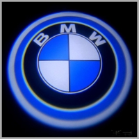 Беспроводная подсветка дверей с логотипом BMW