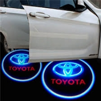 Беспроводная подсветка дверей с логотипом Toyota