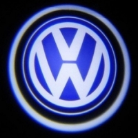 Беспроводная подсветка дверей с логотипом Volkswagen