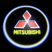 Беспроводная подсветка дверей с логотипом Mitsubishi