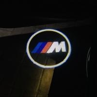Штатная подсветка дверей BMW M