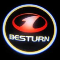 Беспроводная подсветка дверей с логотипом Besturn