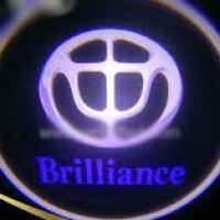 Беспроводная подсветка дверей с логотипом Brilliance