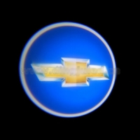 Внешняя подсветка дверей с логотипом Chevrolet 7W
