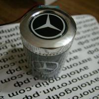 Пепельница с подсветкой 2D логотип Mercedes