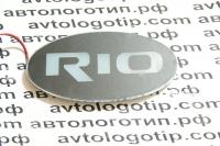 2D светящийся логотип KIA RIO