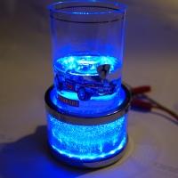 Автомобильный держатель стаканов, бутылок, банок с подсветкой