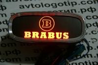 Тень логотипа Brabus,Подсветка днища с логотипом Brabus,Проекция логотипа авто под бампер Brabus,Проектор логотипа Brabus,Подсветка машины с логотипом Brabus