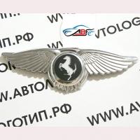 Логотип Ferrari с крыльями