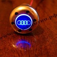 Рукоятка коробки передач Audi с подсветкой