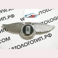 Логотип Roll Royce с крыльями