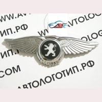 Логотип Peugeot с крыльями