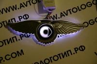Крылатый логотип Smart с подсветкой