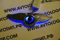 Крылатый логотип SsangYong,Крылатый логотип SsangYong с подсветкой,светящийся логотип SsangYong с крыльями,крылья с подсветкой SsangYong,крылатый логотип SsangYong купить,светящийся логотип SsangYong с крыльями купить