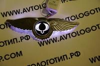 Крылатый логотип SsangYong с подсветкой