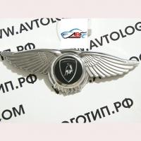 Логотип Lamborghini с крыльями