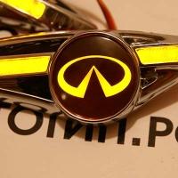 Светодиодный поворотник с логотипом INFINITI