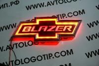 Светящийся логотип Chevrolet Blazer,светящаяся эмблема Chevrolet Blazer,светящийся логотип на авто Chevrolet Blazer,светящийся логотип на автомобиль Chevrolet Blazer,подсветка логотипа Chevrolet Blazer