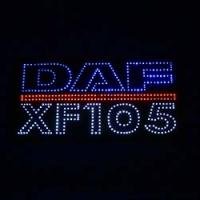 Большой светодиодный логотип DAF XF105