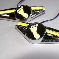 Светодиодный поворотник с логотипом Skoda Yeti