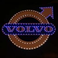 Светящийся логотип для грузовика VOLVO