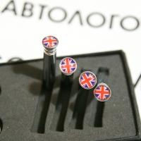 Кнопки замков дверей Британский флаг в лондоне