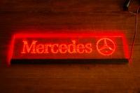 Светящаяся табличка Mercedes