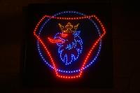 Светящийся логотип для грузовика SCANIA