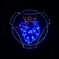 Светящийся логотип для тягача SCANIA White
