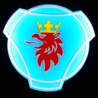 Светящийся полноцветный логотип SCANIA