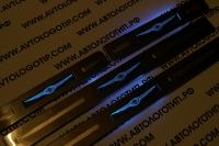 накладки на пороги с подсветкой Chrysler,светящиеся накладки на пороги Chrysler,светодиодные накладки на пороги Chrysler,светодиодные накладки на пороги авто Chrysler,накладки на пороги led Chrysler,декоративные накладки Chrysler