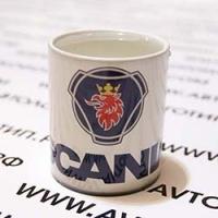 Кружка с логотипом Сканиа