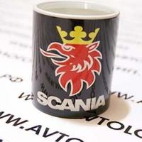 Кружка с логотипом Scania