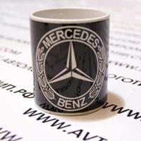 Кружка с логотипом Mercedes
