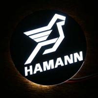 Светящийся логотип HAMANN