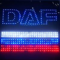Светящийся логотип DAF Россия