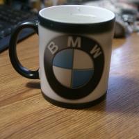 Кружка с логотипом  БМВ