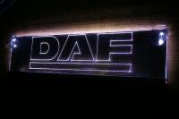 светящаяся эмблема DAF 2D,табличка DAF 2D,картина DAF 2D,логотип на стекло DAF 2D,светящаяся картина DAF 2D,светодиодный логотип DAF 2D,Truck Led Logo DAF