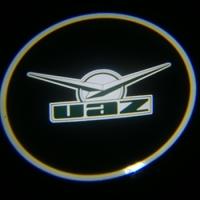 Подсветка логотипа в двери UAZ,подсветка дверей с логотипом UAZ,Штатная подсветка UAZ,подсветка дверей с логотипом авто UAZ,светодиодная подсветка логотипа UAZ в двери,Лазерные проекторы UAZ в двери,Лазерная подсветка UAZ