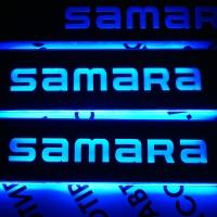 "Накладки на пороги с подсветкой VAZ 2114 ""Samara"""
