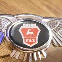 Логотип GAZ с крыльями