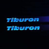 Накладки на пороги с подсветкой Hyundai Tiburon